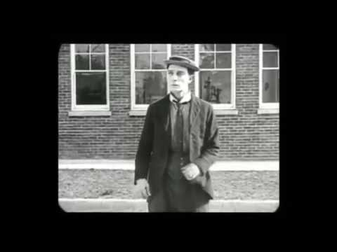 """Buster Keaton """"The Goat"""" (1921) Silent Film Music"""