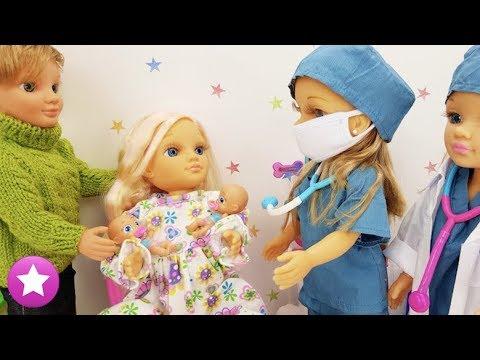 NANCY Mamá de dos bebés-Historias con muñecas-Historias de Juguetes