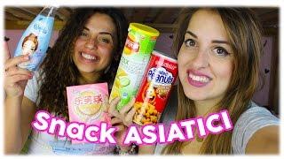 Snack Asiatici: Yogurt Frizzante? Noccioline Al Pollo...