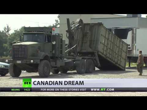 Urgent Housing: Canada to build camps for refugees from US as their number swells