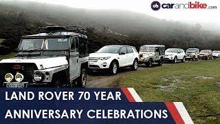 Land Rover 70 Years Celebrations In India   Ndtv Carandbike