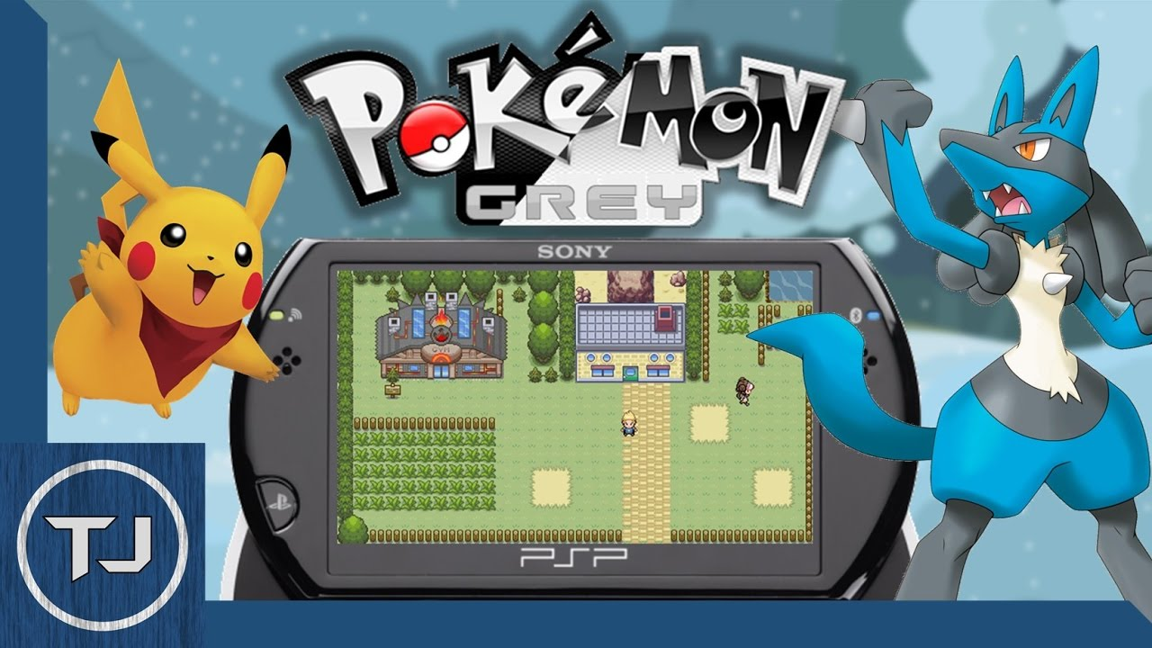 Pokemon Grey PSP Homebrew Game! (DOWNLOAD) 2017! - YouTube
