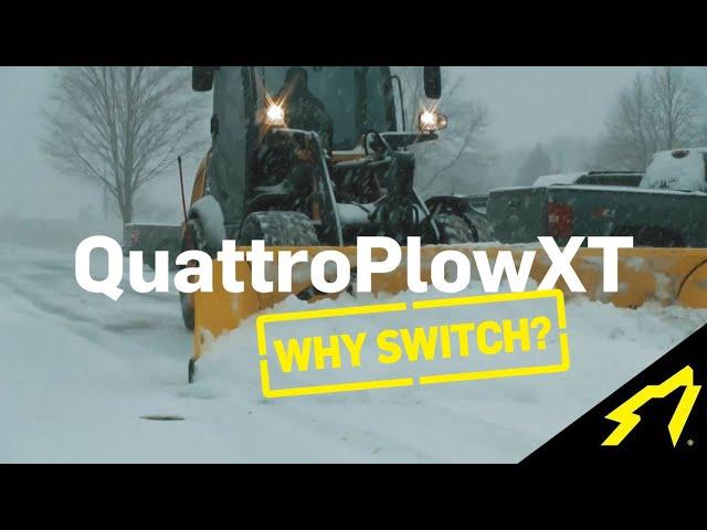 Why Switch to the SnowWolf QuattroPlowXT?