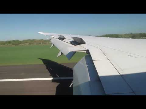 AeroMexico 787-8 Landing In Buenos Aires Argentina Airport