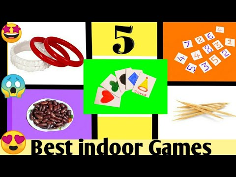 5 Best indoor games to Play at home   new indoor Games for lockdown  diy games 2020