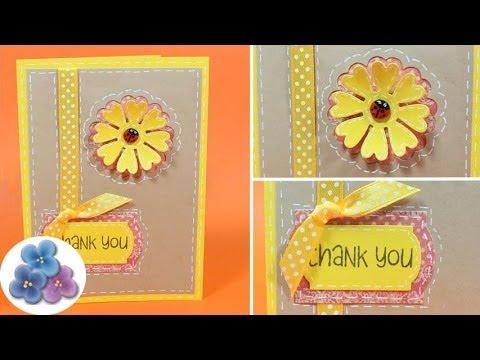 Tarjetas de Agradecimiento *Thank You Card* DIY Postales