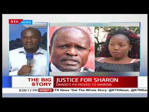 The Big Story: Governor Okoth Obado questioned over death of Sharon Otieno