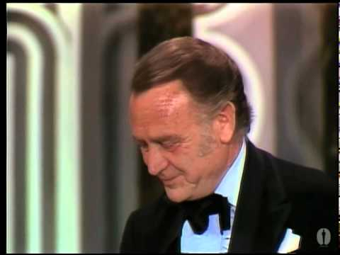 John Mills winning Best Supporting Actor