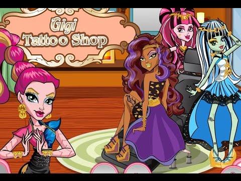 Monster High Gigi Tattoo Shop