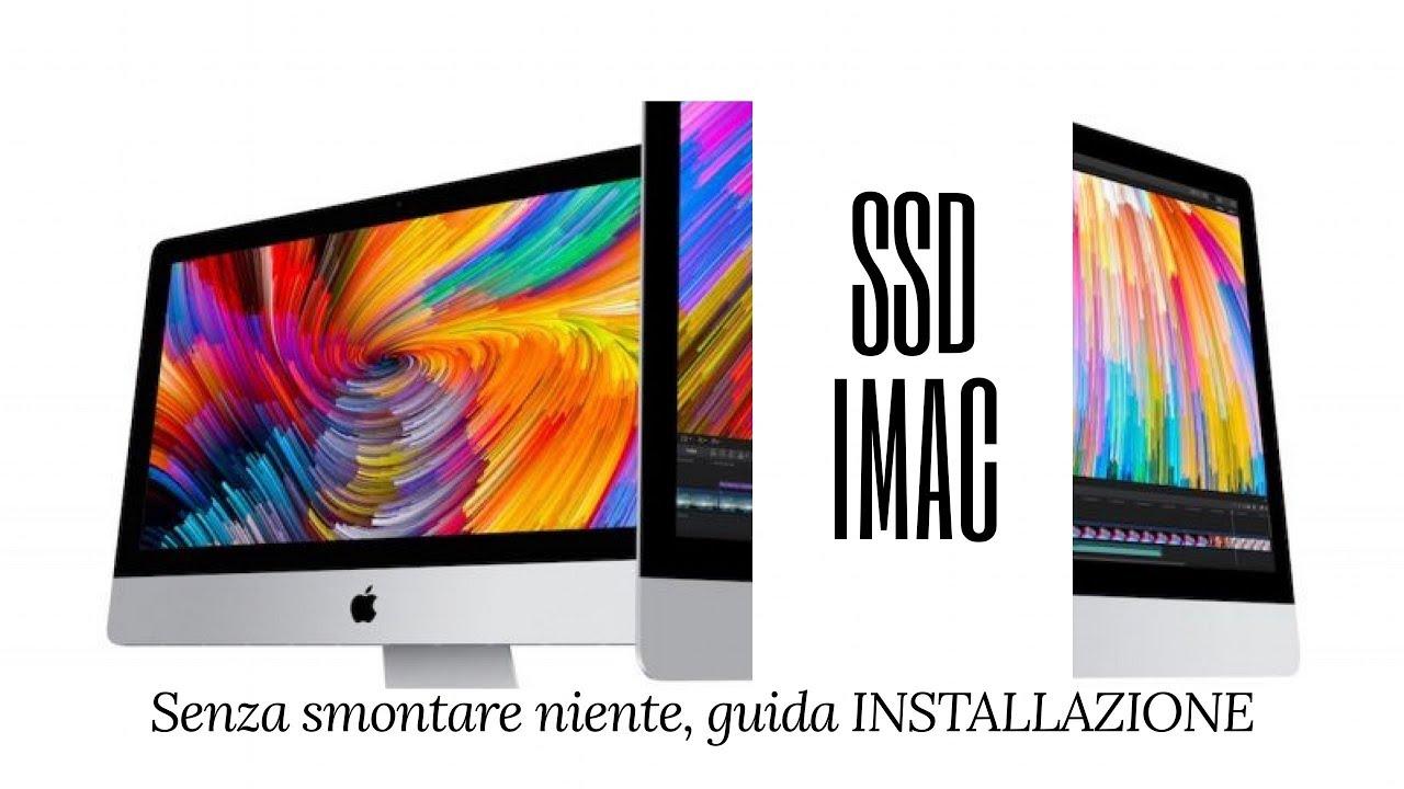 iMac Più Veloce SSD senza sostituire il Disco - Guida Installazione