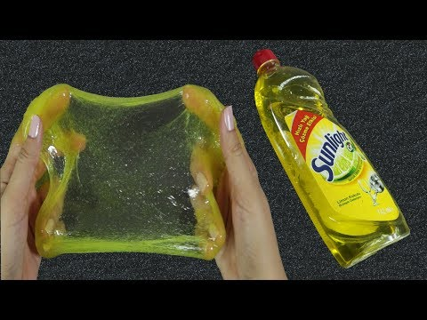 NO GLUE SLIME! 💦 Testing DISH SOAP Slime Recipes