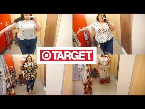 Summer Plus Size Inside The Dressing Room ft. Target!!!