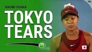 Naomi Osaka's Gold Medal Dream Ends in Tokyo Tears