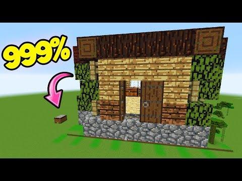 Minecraft Spielen Deutsch Minecraft Gutes Haus Bauen Anleitung Bild - Minecraft gutes haus bauen anleitung