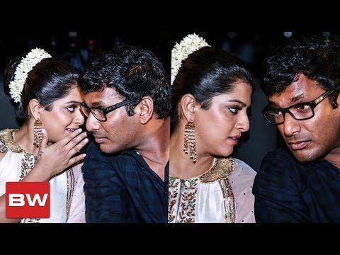 Vishal-Varalakshmi Candid Moments | Celebrity Fun Moments