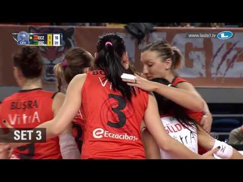 CLVolleyW - 4th Round Leg 6 - Highlights - Eczacibasi VitrA ISTANBUL vs DRESDNER SC
