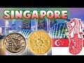 Singaporean Coins Dollar and Cents