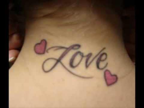 07b1f3504c118 Shoulder Arm Back 3D font tattoos for men and women. Ravi Gopal