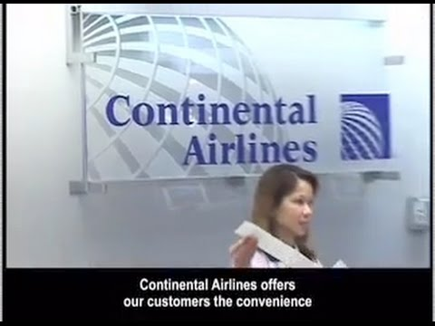 GUM Continental Airlines Arrival Video Guam International 20