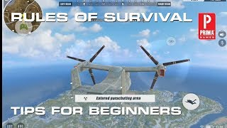 Rules of Survival Tips for Beginners