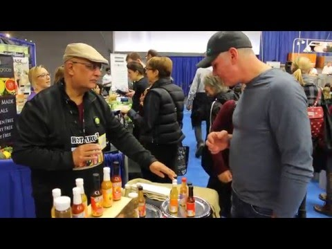 Hot Arusha - Healthy & Spicy Gourmet Sauces at The Wellness Show 2016-Tasting 1