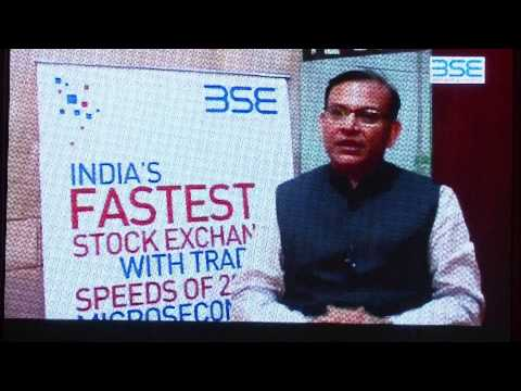 140 YEARS CELEBRATION AT THE BSE