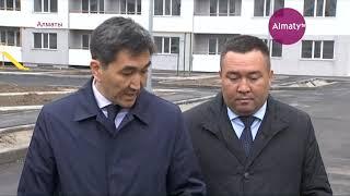 Подрядчики устранят дефекты домов, построенных по госпрограмме в Алатауском районе (11.04.19)