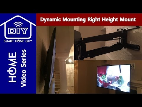 review-dynamic-mounting-right-height-retractable-fireplace-tv-mount-w/-tilt-and-swivel