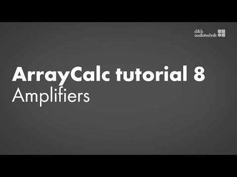 ArrayCalc tutorial 8 Amplifiers: Remote