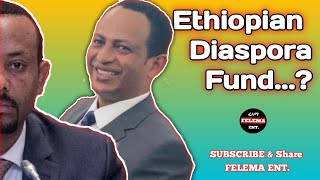Ethiopian Diaspora Trust Fund..??? .... Don't laugh alone!