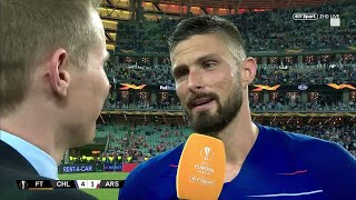 quotArsenal changed my lifequot Olivier Giroud reacts to winning the Europa League final