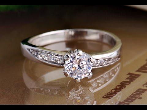 Custom Name Diamond Promise Ring