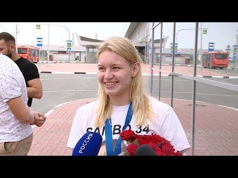 Волгоградка Виктория Дудакова стала чемпионкой Европы по ММА