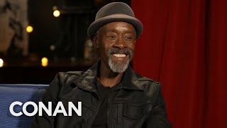 Don Cheadle Full Interview - CONAN on TBS