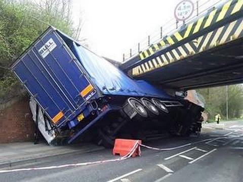 Fail Truck Crash Compilation 2015 Failarmy Crashes