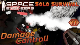 SESS Season 4 | E11 - Damage Control! | Space Engineers | Relaxed Gamer