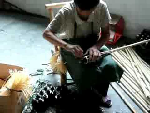 How a Bamboo Tiki Torch is Made