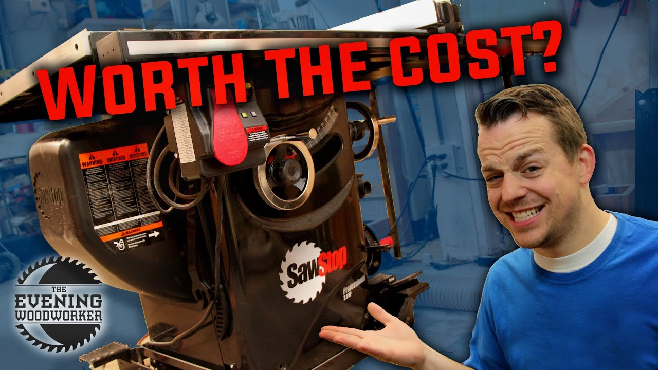Do you Really Need a SawStop? | Woodworking Tool Review