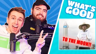 Mr Beast to the Moon, Mcgregor Fight & The Sidemen Bully Randolph? - What's Good Full Podcast ep88