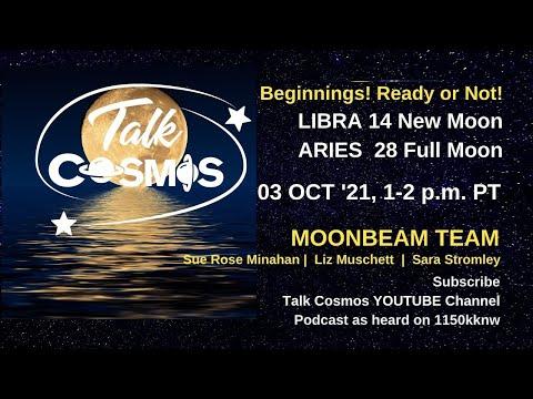 TALK COSMOS 03 Oct 21: Moonbeam Team - Beginnings! Ready or Not!