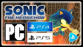 SONIC 06 IS OFFICIALLY PLAYABLE ON PC & PS4!!! #06Boyz #PSNow #Gameplay