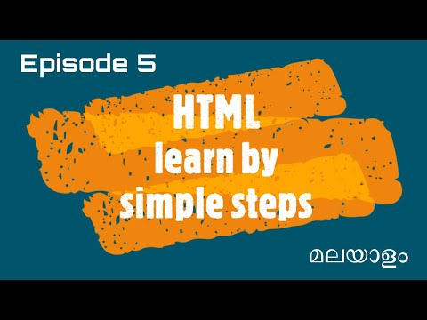 HTML Tutorial for Beginners | Learn HTML Table | Malayalam Tutorial Series thumbnail