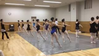 キエフバレエ特別講習会【Олена М Потапова Семинар 2016】