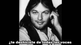 David Gilmour Murder About Face Spanish Subtitles Subtítulos En Español