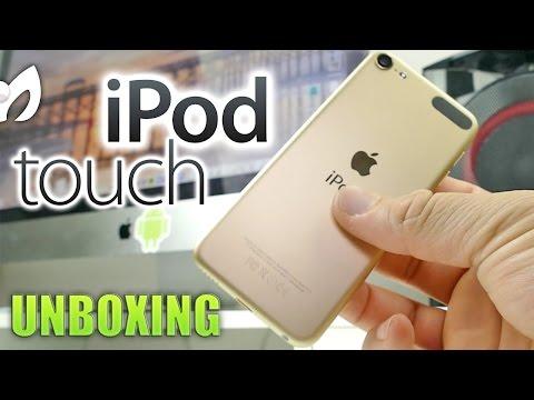 Unboxing NUEVO iPod Touch 2015 (Semi comparación + Primeras impresiones)