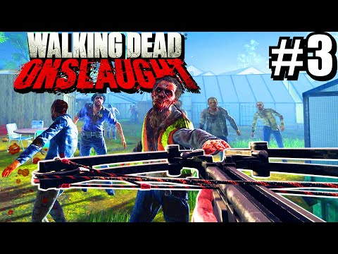 Walking Dead Onslaught VR - Auto Crossbow Zombie Shredder |