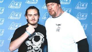 Meeting The Undertaker At Ace Comic Con (New York, NY) | Brandon Hodge Vlog #73