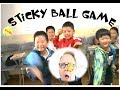 Sticky Ball Game - For your Class or at Home - ESL Games