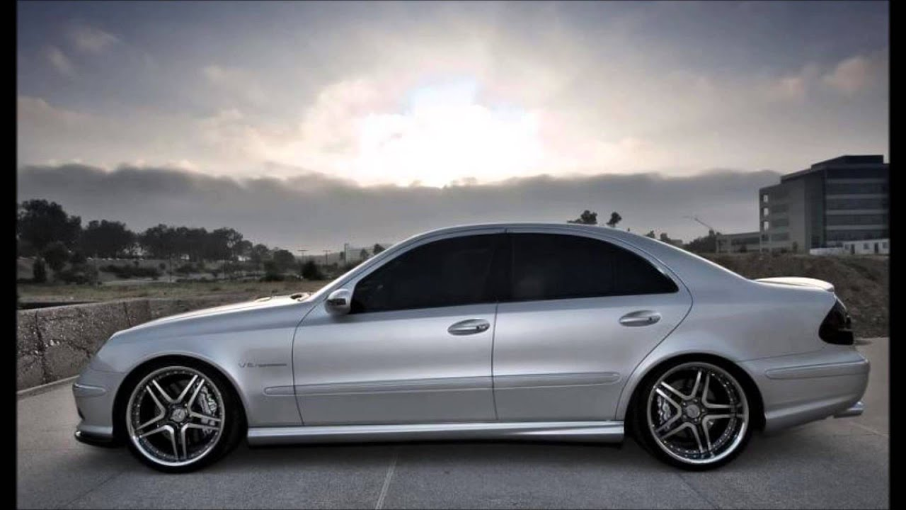 mercedes e-class w211 - tuning - body kit - youtube