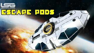 Space Engineers - Escape Pods, Abandon Ship Protocol Concept